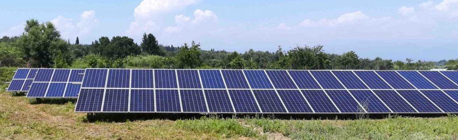 φωτοβολταϊκό πάρκο 100kW Κέρκυρα