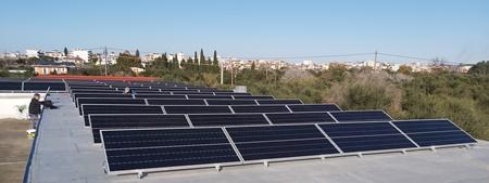 Πάνελς Sunpower σε επαύξηση φωτοβολταϊκού net metering στην Αμαλιάδα