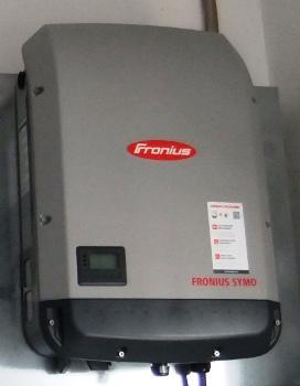 Ινβέρτερ Fronius 20kW σε φωτοβολταϊκό net metering σε επιχείρηση στην Αμαλιάδα