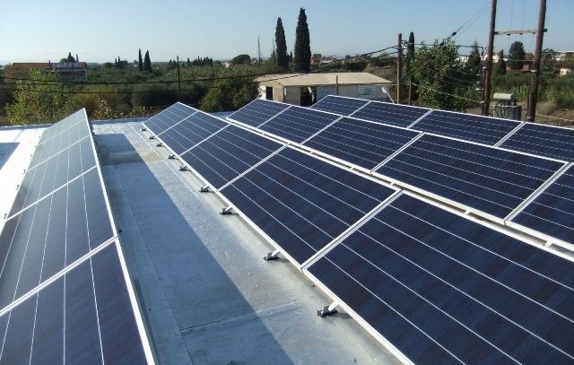Φωτοβολταϊκά Sunpower σε επιχείρηση για μείωση λογαριασμών