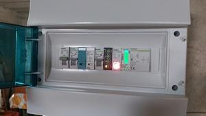 Ηλεκτρολογικός πίνακας για αντλία θερμότητας