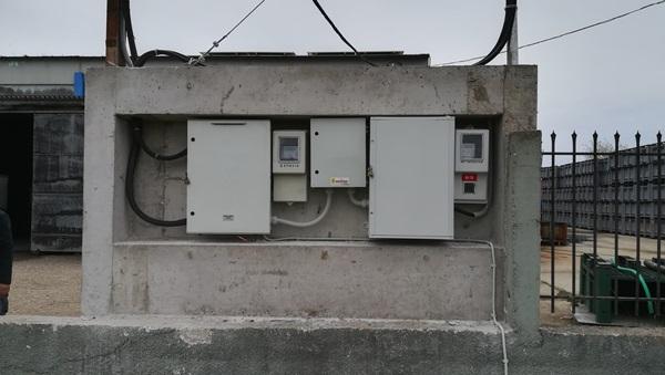 Μετρητική διάταξη και πίνακας ασφαλούς απομόνωσης σε φωτοβολταϊκό 67,5kW στην Αμαλιάδα Ηλείας