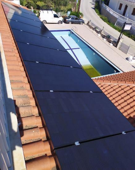 Φωτοβολταϊκά υψηλής απόδοσης Sunpower σε ξενοδοχείο στη Ζάκυνθο