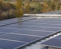 Φωτοβολταϊκό 100kW net metering σε επιχείρηση