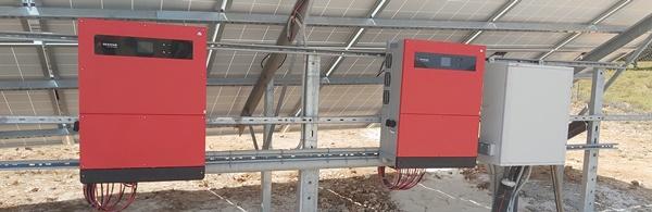 Ινβέρτερς Goodwe 50kW σε φωτοβολταϊκό πάρκο 100kW στη Ζάκυνθο